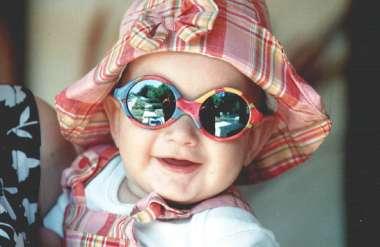 משקפי שמש אופטיים לתינוקות