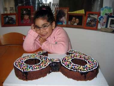 עוגת משקפיים מיוחדת